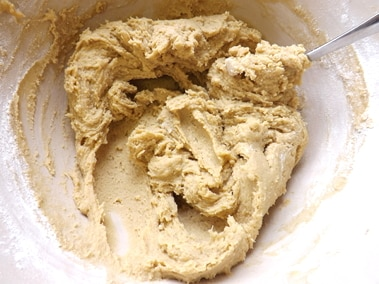 batter before the flavours are added
