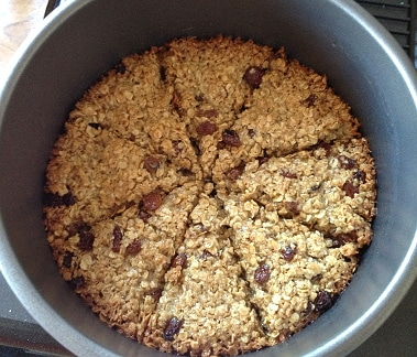 flapjack fresh out of the oven