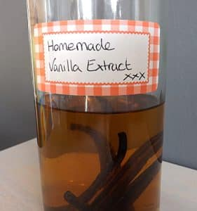vanilla extract after a few days