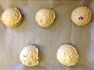 whoopies ready for the oven