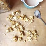cinnabon popcorn with glaze