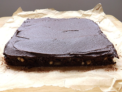easy fudgy brownies
