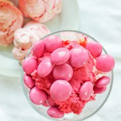 Pink Chocolate Eton Mess
