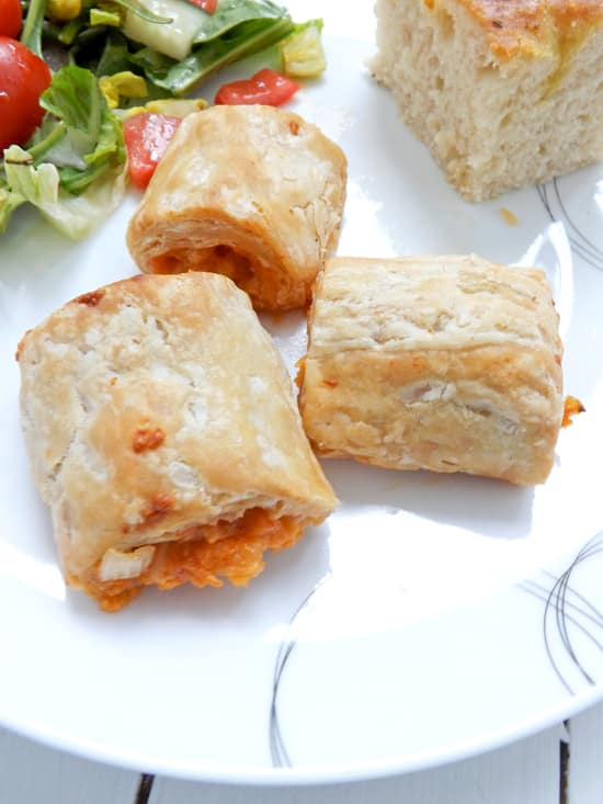 Cheese and Onion Rolls