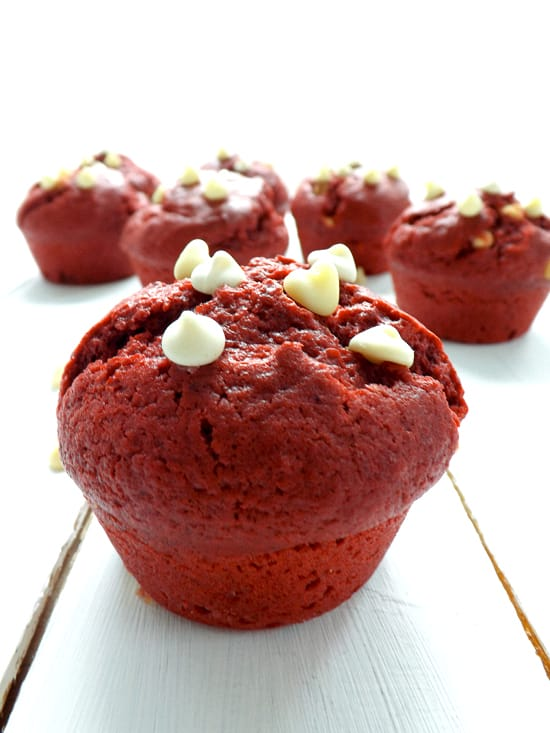 Red Velvet Muffins - Bake Then Eat