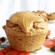 Whole Wheat Chocolate Chip Peanut Butter Muffins