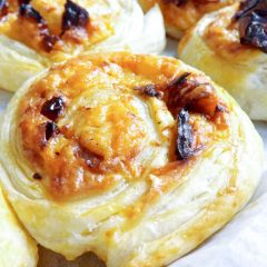 Sun Dried Tomato and Cheese Pinwheels