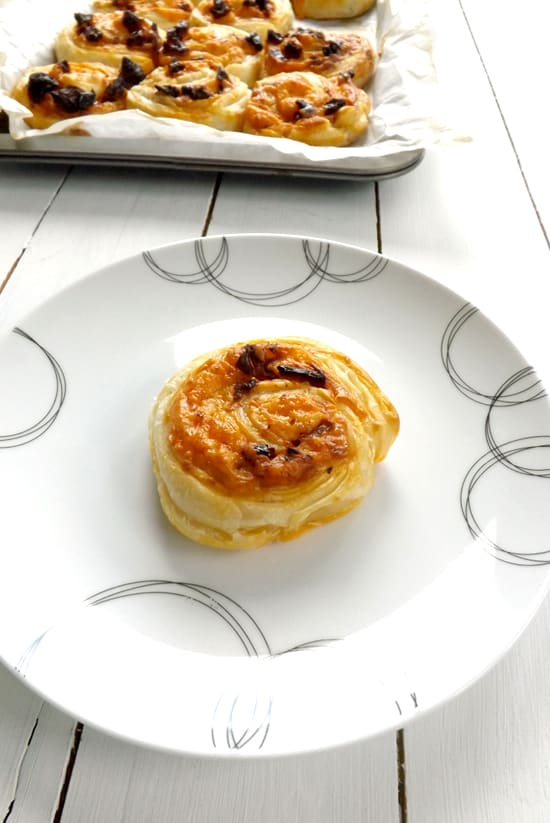 Sun-dried Tomato Cheese Pinwheels