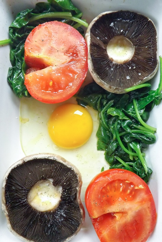 All In One Vegetarian Brunch