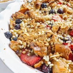 Easy Overnight Cream Cheese French Toast Bake