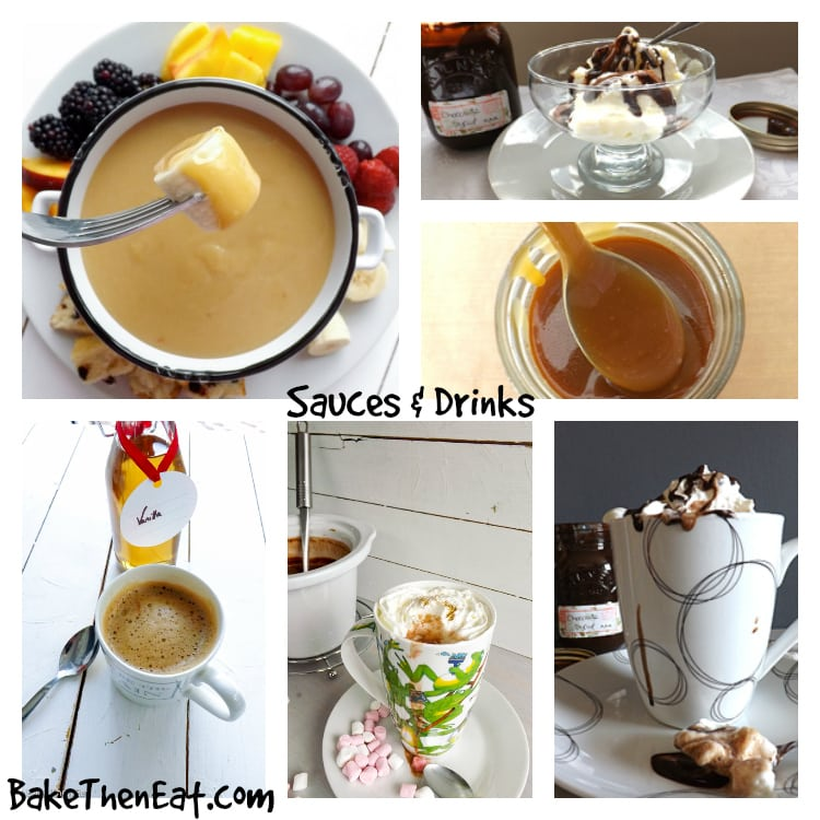 39 Festive Inspired Recipes To Get You Started - Sauces & Drinks | BakeThenEat.com