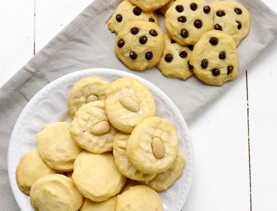 Easy Whipped Almond Shortbread