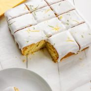 Simple Lemon and Lime Snack Cake