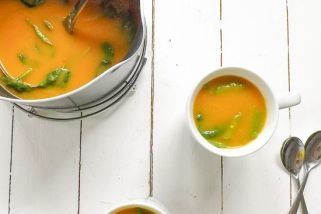 Quick and Easy Carrot and Coriander Soup