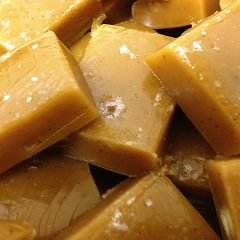 Delicious Homemade Salted Vanilla Bean Caramels