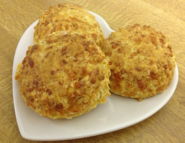 3 Of Mums Homemade Cheese Scones