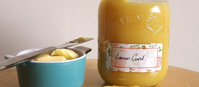 Easy Homemade Delicious Lemon Curd