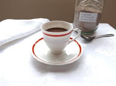 hot chocolate with chocolate powder