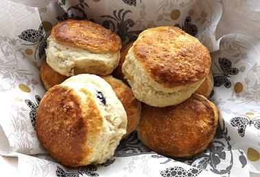 scones ready to be eaten