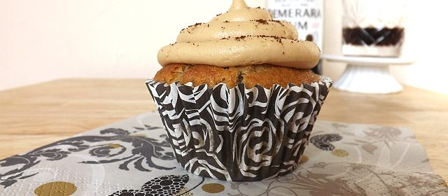 Rum Banana and Coffee Cupcakes