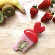 Fruit Smoothie and Greek Yogurt Ice Lollies