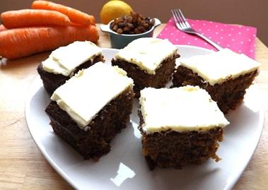 Hedge Combers Carrot Cake