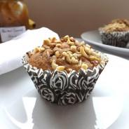 Banana Nut Caramel Muffins