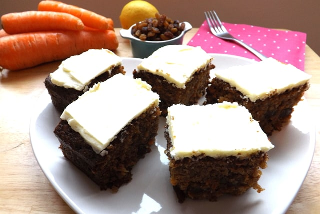 Lovely Hedge Combers Carrot Cake