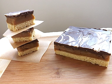 millionaires caramel shortcake