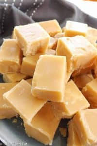 Scottish tablet - it's not fudge and its certainly not toffee. It's a medium hard melt in the mouth confection. An easy to follow traditional Scottish no-fail recipe | BakeThenEat.com