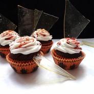 Halloween Broken Glass Cupcakes