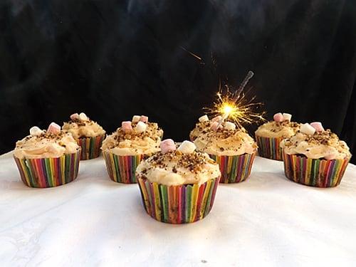 smoores cupcakes