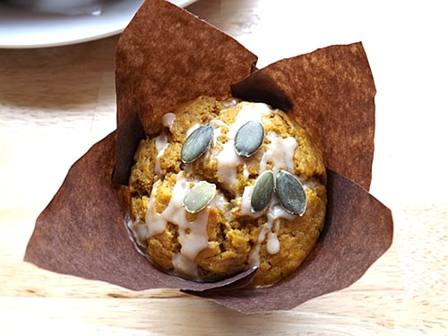 Pumpkin and Banana muffins