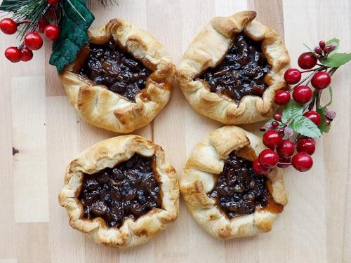 mini galette crust mince pies
