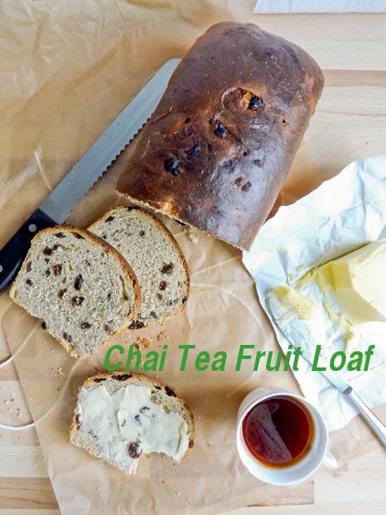 chai tea loaf