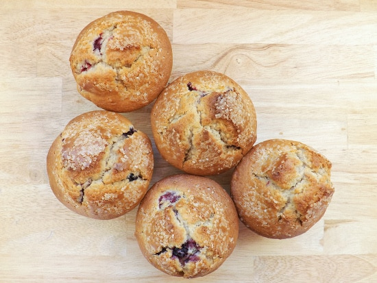 giant very berry muffins