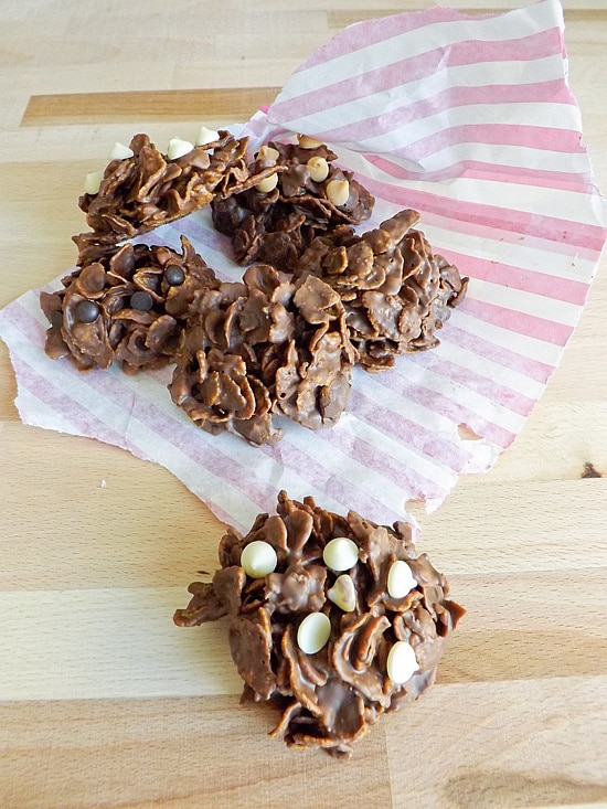Nutella Cluster Treats