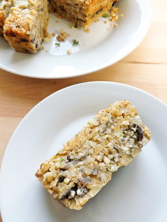 vegetarian nut roast