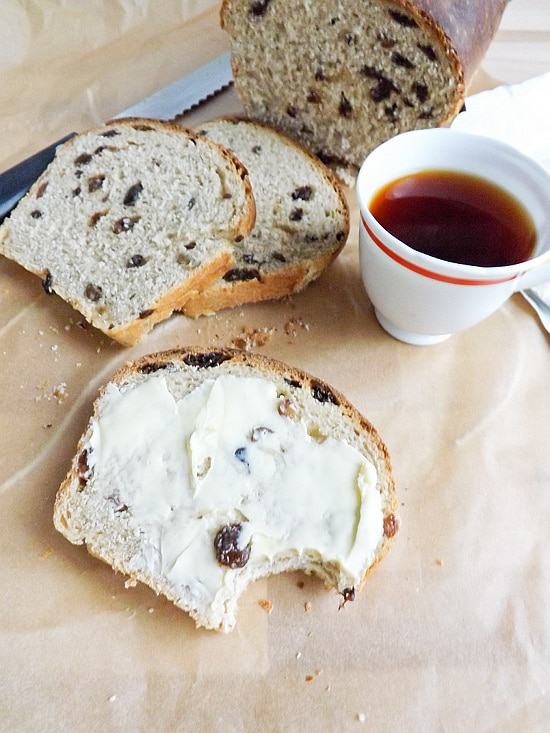 chai tea fruit loaf