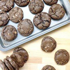 Spicy Double Chocolate Chip Cookies