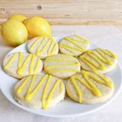 Lemon Drizzle Cookies