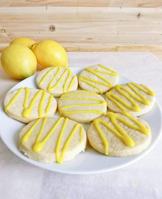 Lemon Drizzle Cookies