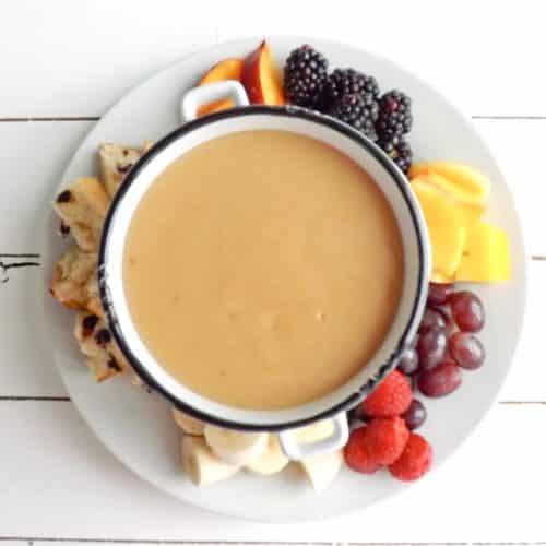 slow cooker butterscotch fondue