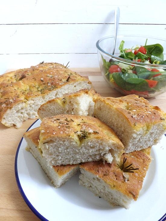 easy focaccia bread
