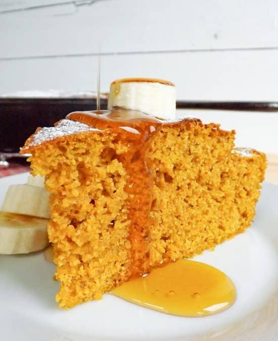 Skillet Pumpkin Cornbread