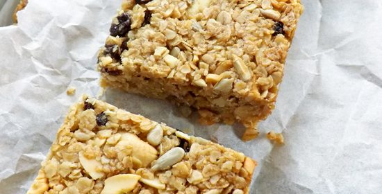 Sunflower Seed Granola Bars