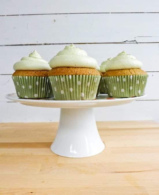 Green Tea Cupcakes