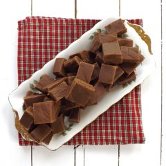 Peanut Butter and Chocolate Fudge