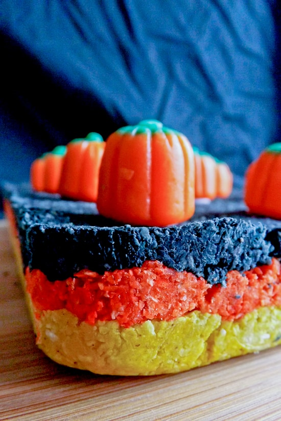 Halloween Pumpkin Pie Spice Coconut Ice