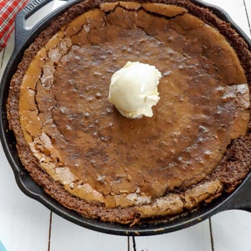 Skillet Brownie Cookie